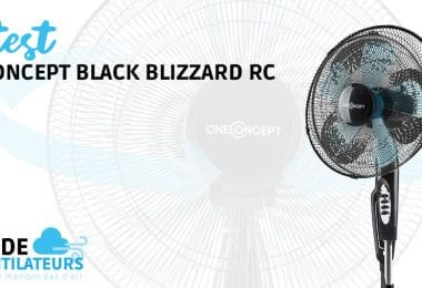 OneConcept Black Blizzard RC