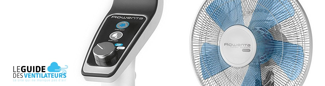 ventilateur silencieux Rowenta VU5640F0 Turbo Silence