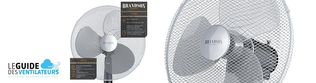 Ventilateur sur pied Brandson