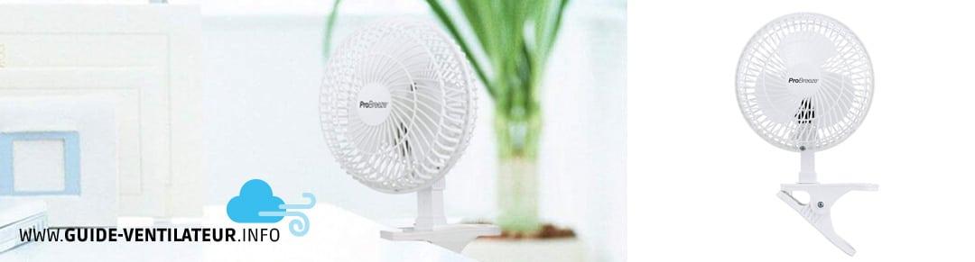 ventilateur de bureau Pro Breeze